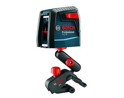 Bosch Gll 30 P Self Leveling Cross Line Laser W Flexible Mount Kit