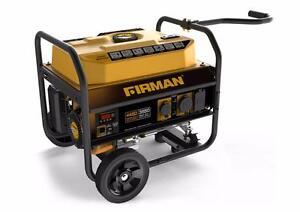 Firman (P03501) Gas-Powered 4,450 Watt Portable Generator (BRAND NEW) $399.99