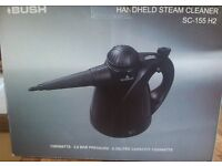 Bush handheld steam cleaner 1300 watts 3 bar. all attachments. Brand new &box. Cost £35 sell for £25
