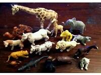 Kid's toy ZOO animals