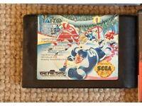 Sega Mega Drive game Hit the Ice (Ice Hockey game) no box