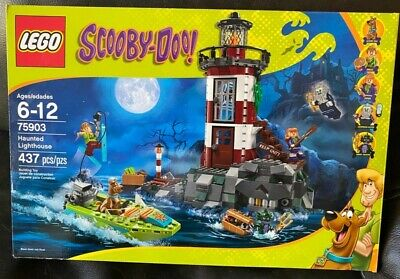 Retired LEGO Scooby-Doo Haunted Lighthouse (75903) W/ Manuel & Box! 99% Complete