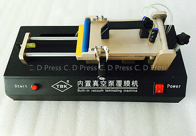 Manual Oca Laminating Machine Built-in Vacuum Pump Laminator For Mobile Phone