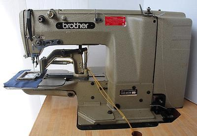 Brother Lk3-b439 Label Tacker 1 34 X 2 34 Industrial Sewing Machine 220v 3ph