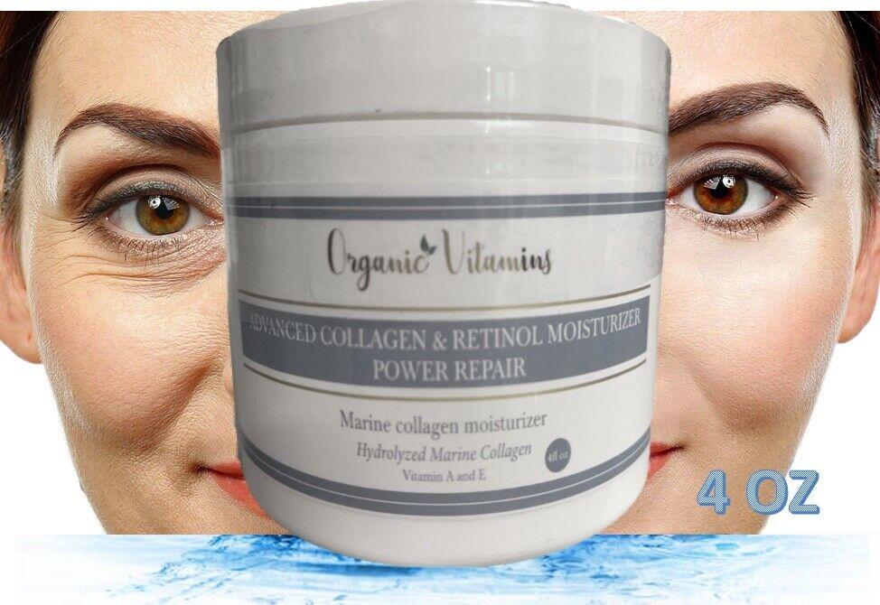 Anti Aging Retinol Moisturizer Cream for Face Eye Area Anti Wrinkle Unisex 4OZ