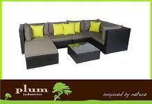 Wicker Outdoor Furniture lounge set Sofa setting Melbourne Bayswater Knox Area Preview