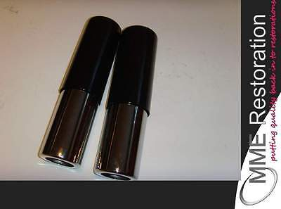 TRIUMPH BSA NORTON AJS GIRLING STYLE SHOCK ABSORBER SHROUD COVER SET