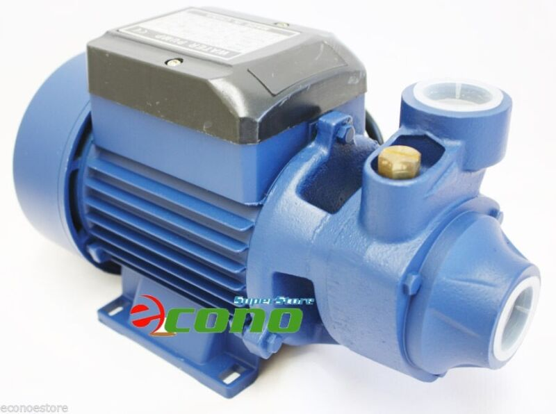 CENTRIFUGAL 1/2 HP ELECTRIC WATER PUMP POOL FARM POND 500GPH