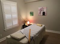 Massage Space Available for Professional RMT/MT