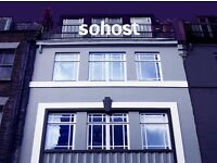 SOHOST Dog Friendly CoWorking in Soho: Desks Available