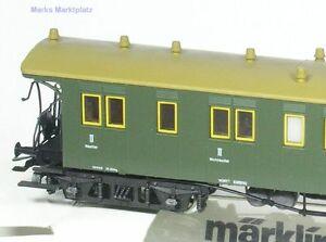 H0 Personenwagen II./III.Kl. K.W.St.E. Märklin 4210 NEU OVP
