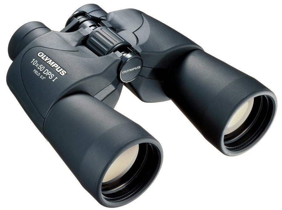 Fernglas Olympus 10x50 DPS I Binoculars 65° Sehfeld Dioptrie Korrektur
