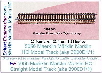 EE 5056 LN Marklin HO Straight Model Track 3900A1/1 LikeNew Condition, 1 Piece
