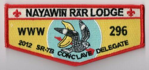 Nayawin Rar Lodge 296, 2012 Conclave Delegate, North Carolina