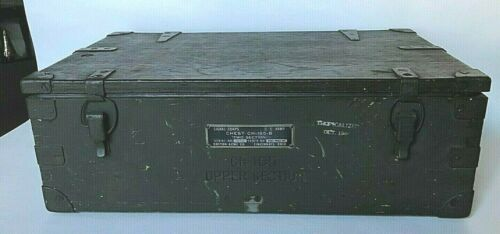 VTG WWII U.S. Army Signal Corp Equipment Chest 1944 Pacific Theater