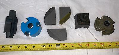 7 Qty -bulk Mix Lot- Shredder Mill Cutter Shredder Teeth Blades Quadco Sch40