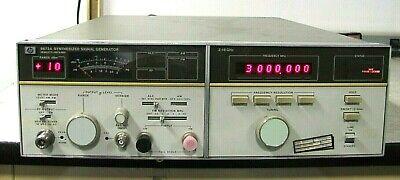 Hp Hewlett Packard 8672a Synthesized Signal Generator 2 - 18 Ghz Good Working