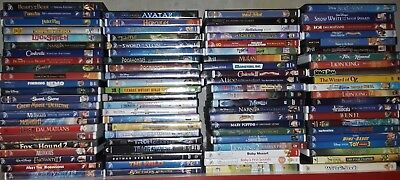 Pick Choose Disney   Family Movies Dvd Vg  Lot Choice Buy More Save  Hipping