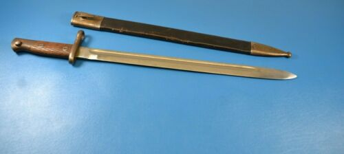 Antique Original Spanish Spain Model 1893 /13 Long Bayonet Toledo with Scabbard