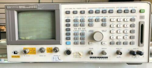 HP 8924C CDMA Mobile Station Test Set 30-1000MHz please read