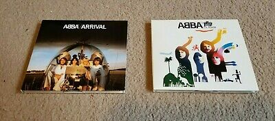 ABBA CD Lot - Arrival and The Album (Remastered with bonus tracks, VG+)