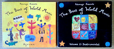 BEST OF WORLD MUSIC - AFRICAN & INSTRUMENTAL VOLUME 2 - (2) CDS - (Best African Music Albums)