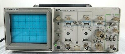 Tektronix 2213a 2 Channel 60 Mhz Oscilloscope As Is-free Shipping-