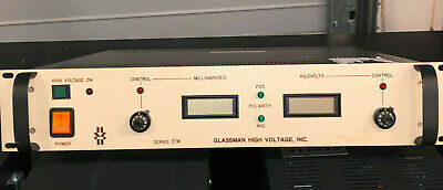 Glassman Highe Voltage Ew - 60kv Power Supply 10 Ma Psew60n10-dm21 Wrty