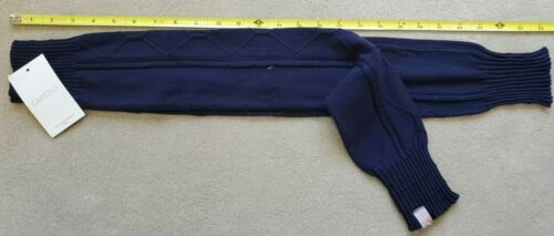 "NEW Capezio 26"" Navy Leg Warmers CK10793w"