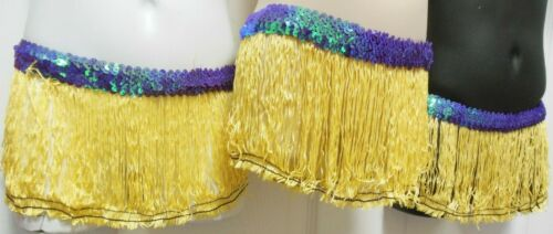 Lot of 10 Costume Yellow FringeSkirts Lilac Sequin Small Ch sz 4-6 Pullup