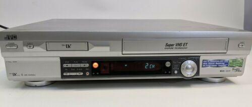JVC HR-DVS3U DVS3 Mini DV MiniDV SVHS ET Player Recorder Dual Deck VCR ~SR-VS30U