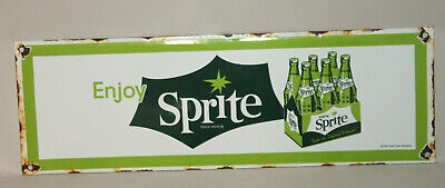 Sprite Six Pack Vintage Style Porcelain Signs Country Store Station Advertising