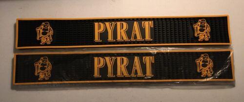 Two (2) New Pyrat Rum Bar Mats