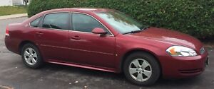 2009 Chevrolet (Chevy) Impala + winter tires