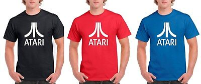 Atari Logo T Shirt Mens and Youth Sizes Games Console