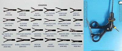 Laparoscopic Grasper Dissector Scissor Forceps Micro Surgical Instruments 5 Mm