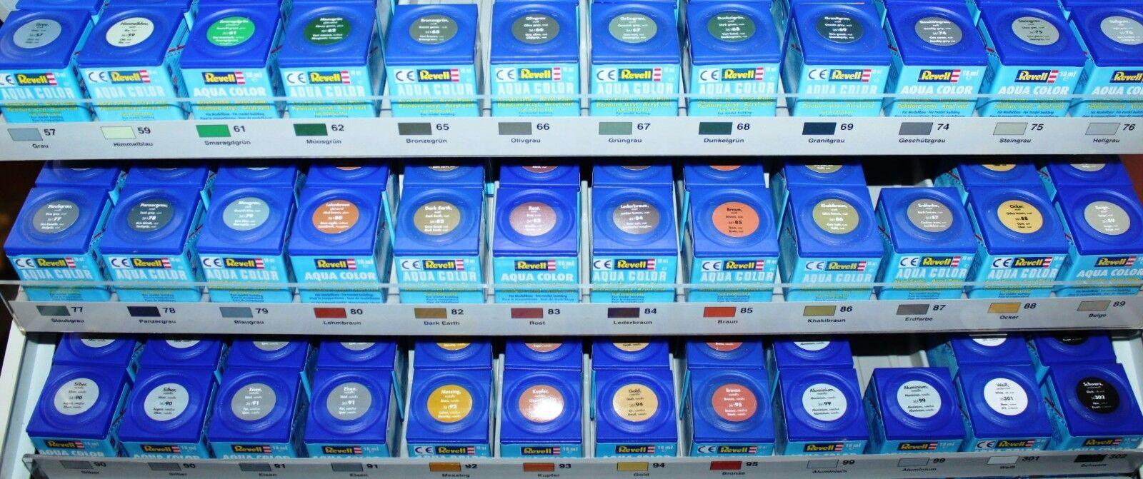 Revell Aqua Color Serie 36 88 verschiedene Farbtöne 18ml(100ml=21,39€)