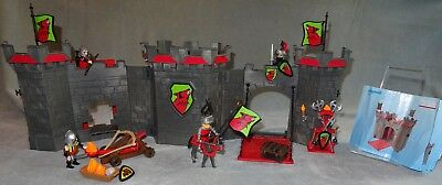 Playmobil - 4440 Knight's Take Along Castle and Figures Complete VGC