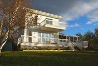 Superbe chalet/maison d'été à louer - péninsule acadienne