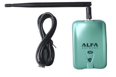 Alfa AWUS036NH 802.11n 2000mW WIRELESS-N USB Wi-Fi adapter High Power 2w RP-SMA