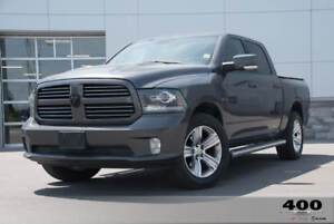 2014 Ram 1500 Sport **FULL LEATHER SEATS** 8.4 SCREEN**COOLED/HE