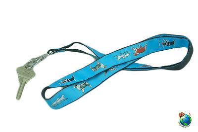 Australian Shepherd Lanyard Key Holder Badge Holder