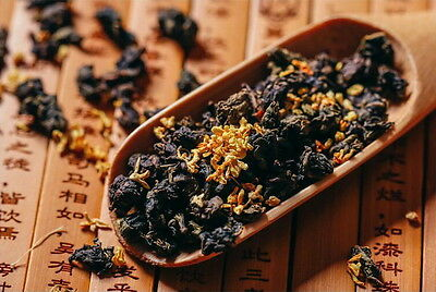 Supreme Fragrant Sweet Osmanthus Taiwan Oolong Tea Scented with Gui Hua Blossoms ()