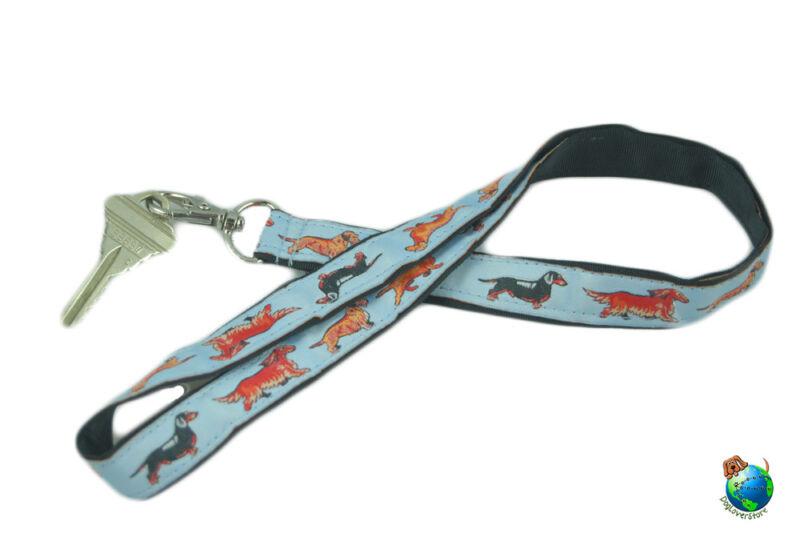 Dachshund Lanyard Key & Badge Holder