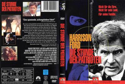 DIE STUNDE DER PATRIOTEN --- nach dem Roman von Tom Clancy --- Harrison Ford ---