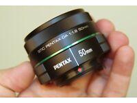 Pentax 50mm f/1.8