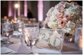 WEDDING STAGE DECORATIONS, CENTERPIECES, VENUES HIRE, VENUE STYLING, NIGERIAN WEDDING CATERING