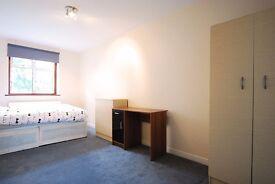Large Double En-suite Room in St Johns Wood, Garden //