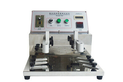 110v Alcohol Rubber Abrasion Test Machine Steel Wool Friction Tester