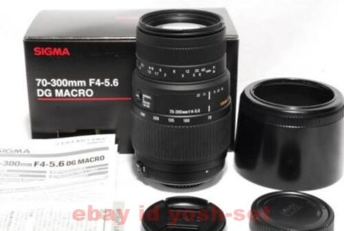 Sigma 70-300mm f/4-5.6 DG Macro Telephoto Zoom Lens for Niko